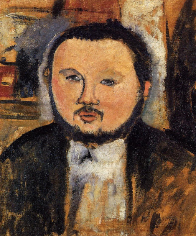 Amedeo Modigliani. Portrait Of Diego Rivera