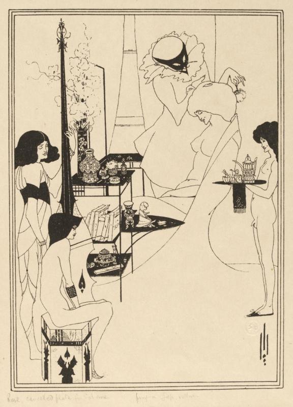 Aubrey Beardsley. Toilet Salome II