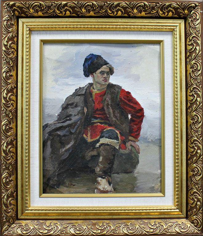 Orest Georgievich Betekhtin. Young Cossack