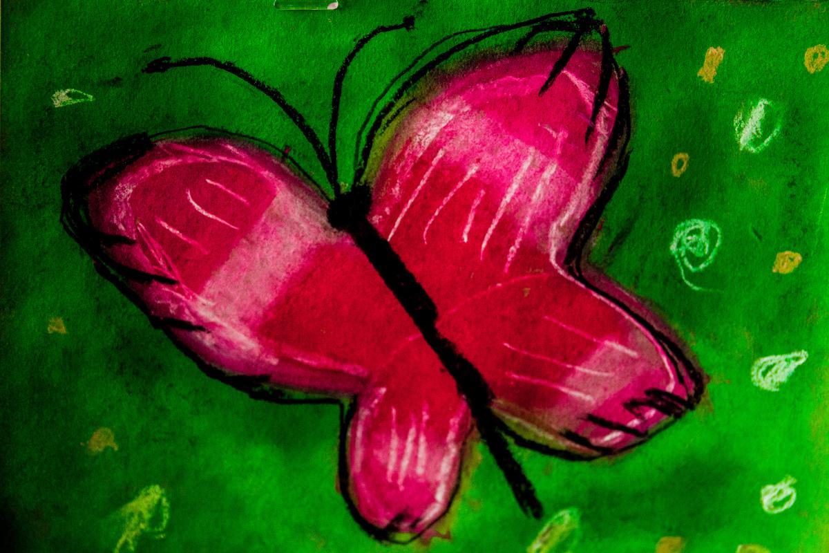 Katya S. Magic butterfly