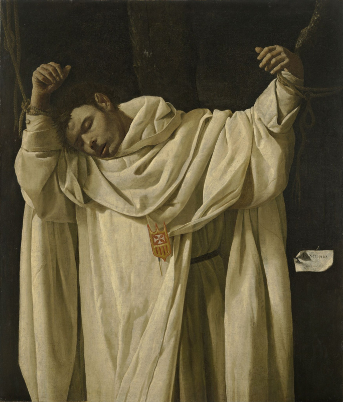 Francisco de Zurbaran. Saint Serapion