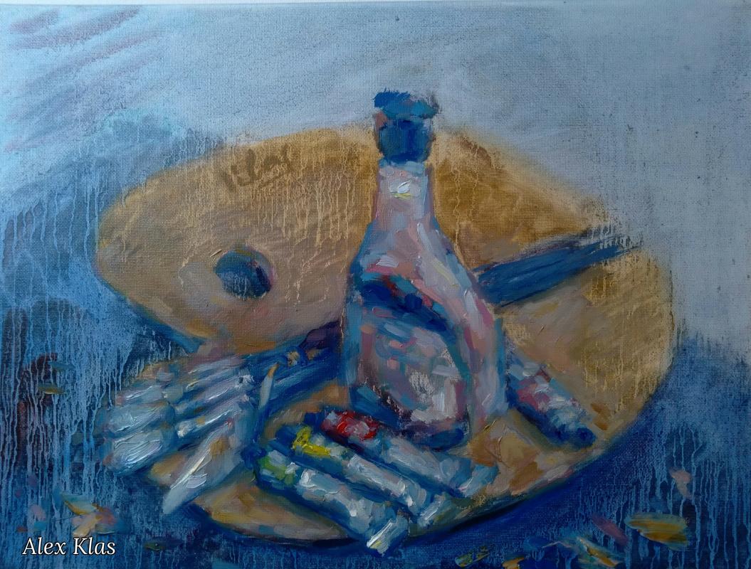 Alex Klas. Artist's palette