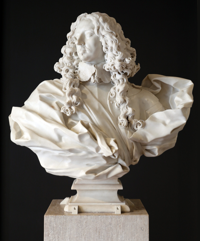 Gian Lorenzo Bernini. The bust of Francesco d'este