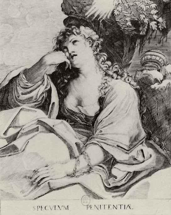 Лодовико Карраччи. Святая Мария Магдалина