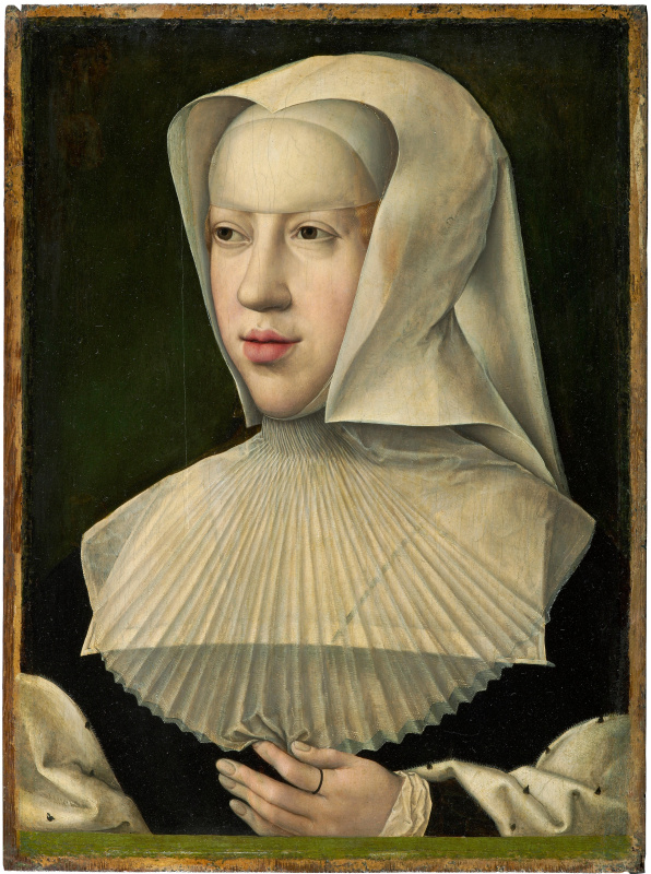 Bernart Van Orley. Portrait of Margarita of Austria