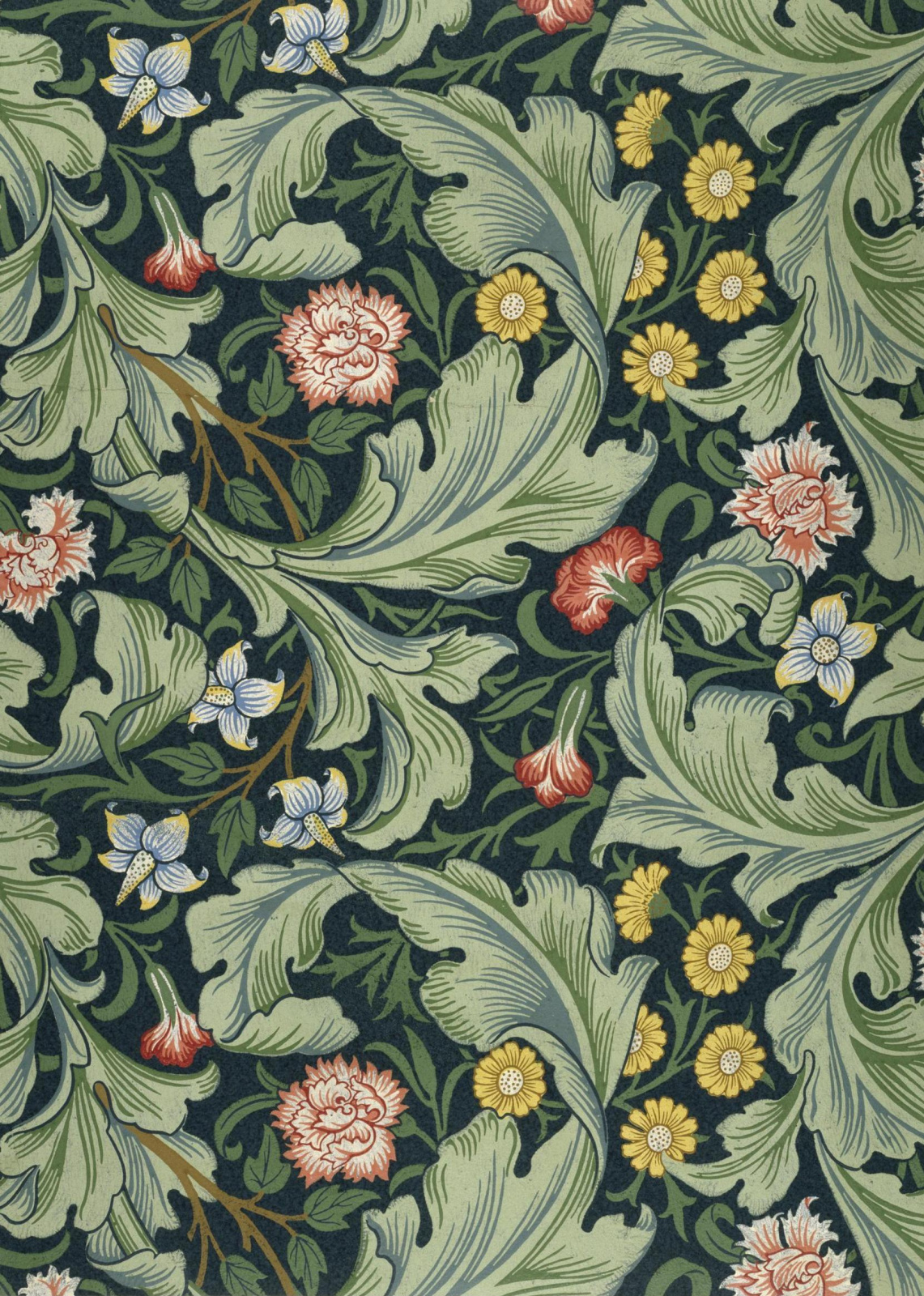 William Morris.  Leicester