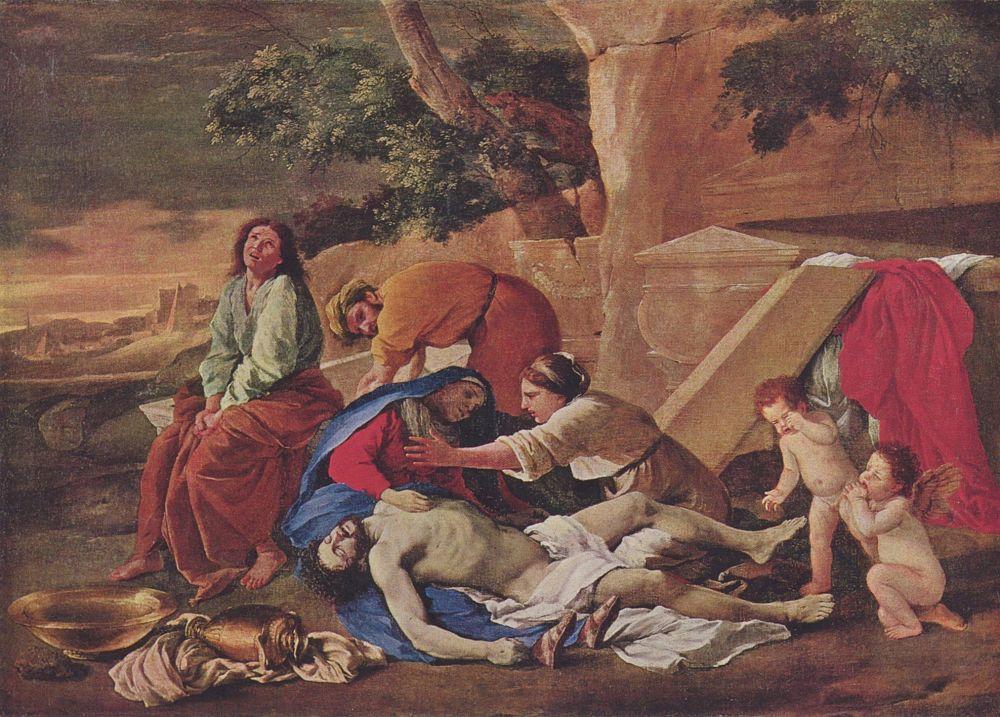 Никола Пуссен. Оплакивание Христа
