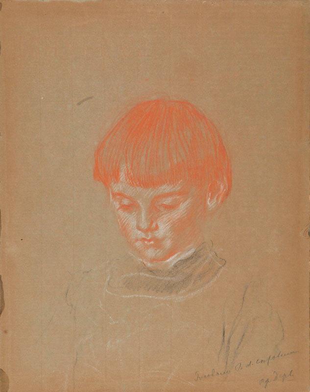 Valentin Aleksandrovich Serov. Portrait Of MITI Derviz