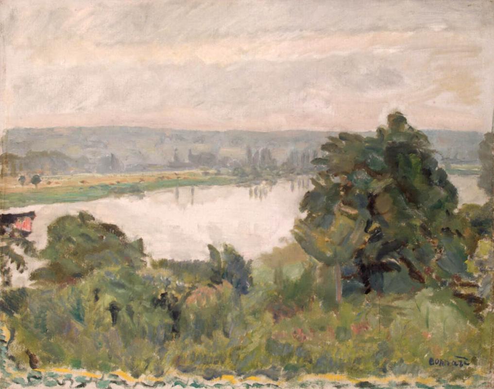 Pierre Bonnard. The Seine near Vernon