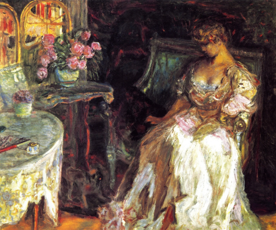 Пьер Боннар. Мизиа с розами