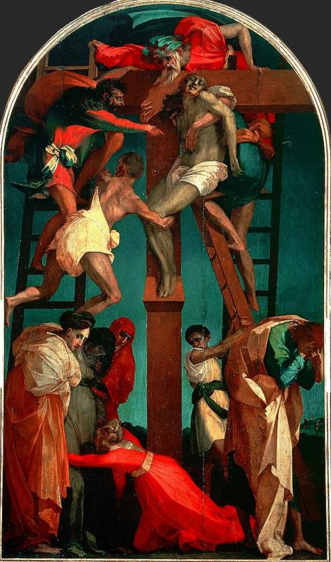 Fiorentino Rosso. The descent from the cross