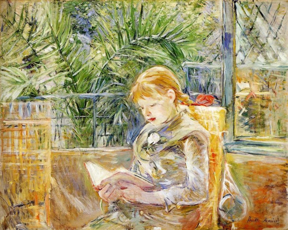 Берта Моризо. Чтение