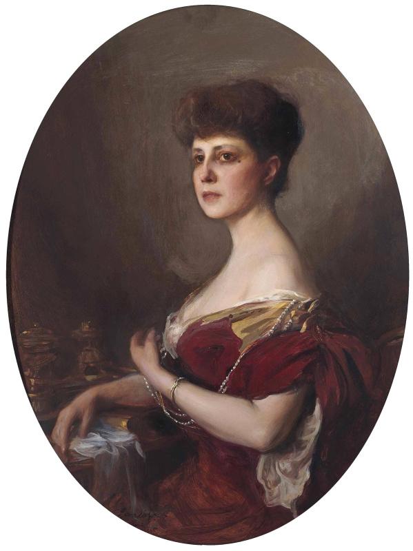 Филип Аликсис Де Ласло. Countess Jean de Castellan, nee Dorothea de Talleyrand. 1905