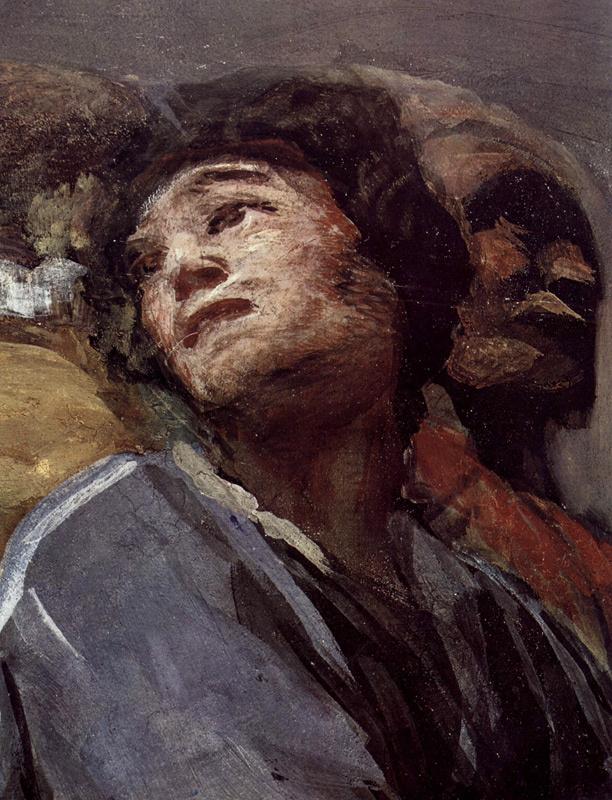 Франсиско Гойя. Фреска часовни Св. Антония Флоридского, деталь 3