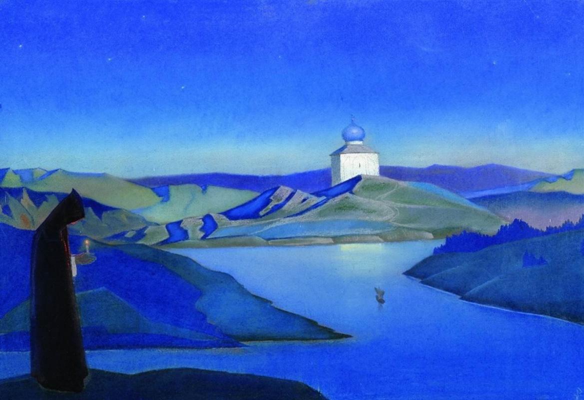 Nicholas Roerich. Twilight
