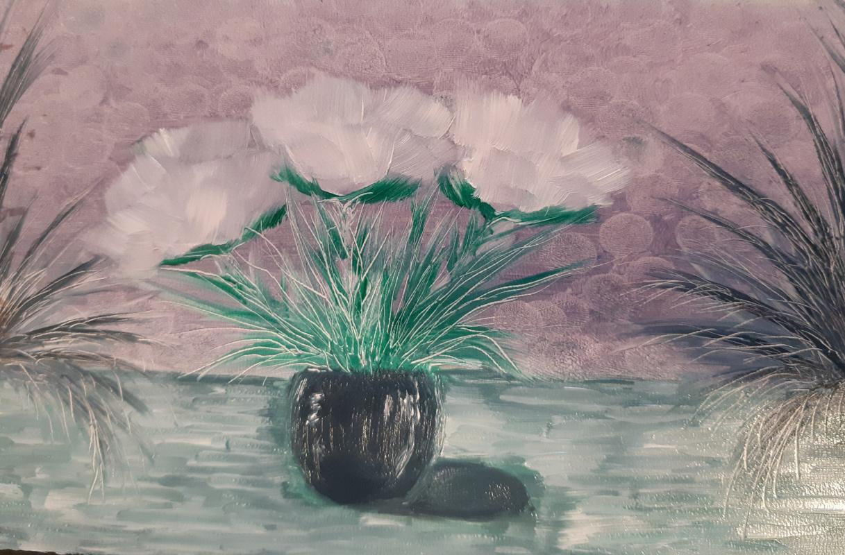 Asya Alibala gizi Hajizadeh. Цветы снов