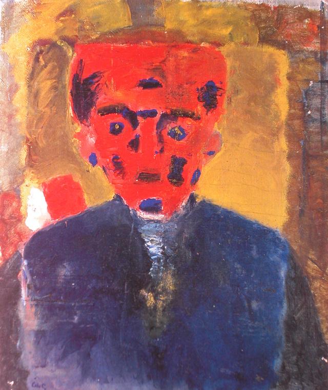 Аке Горанссон. Мужчина в синем пиджаке