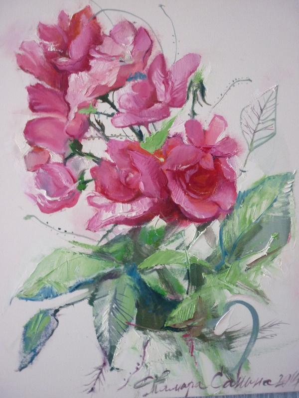 Тамара Санина. Дикие розы