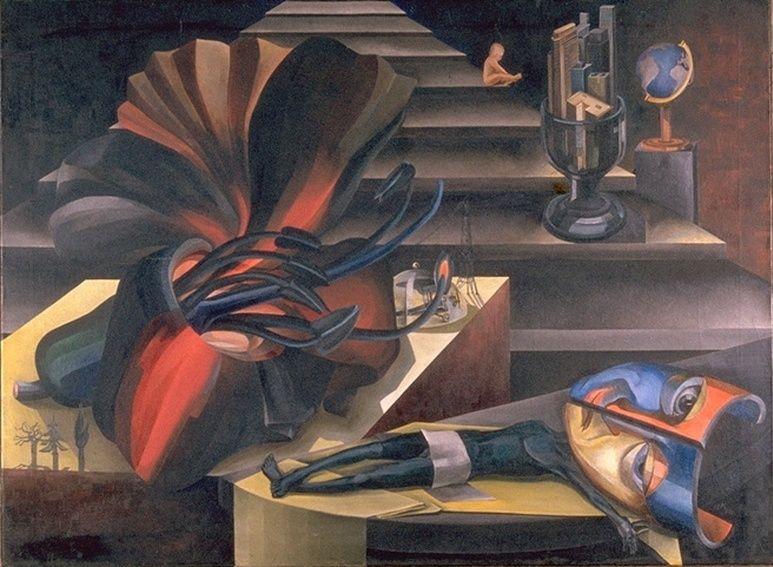 Ханна Хёх. Лестница