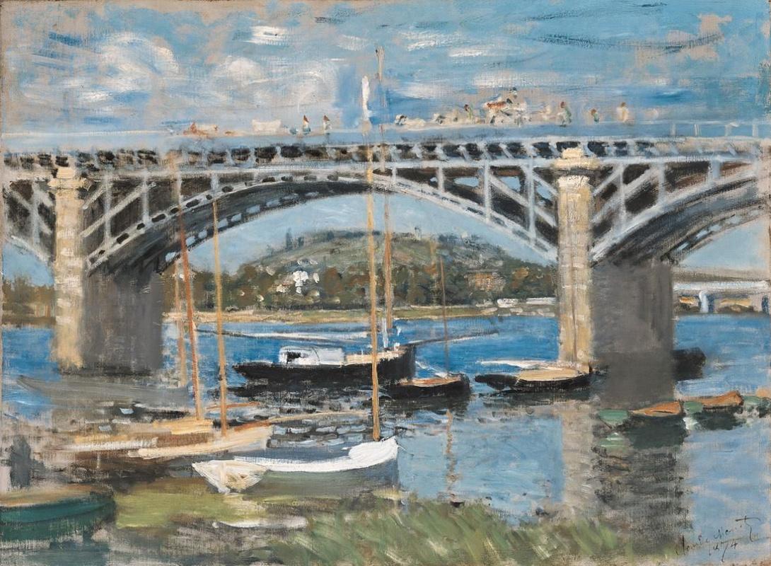 Клод Моне. Мост в Аржентёе