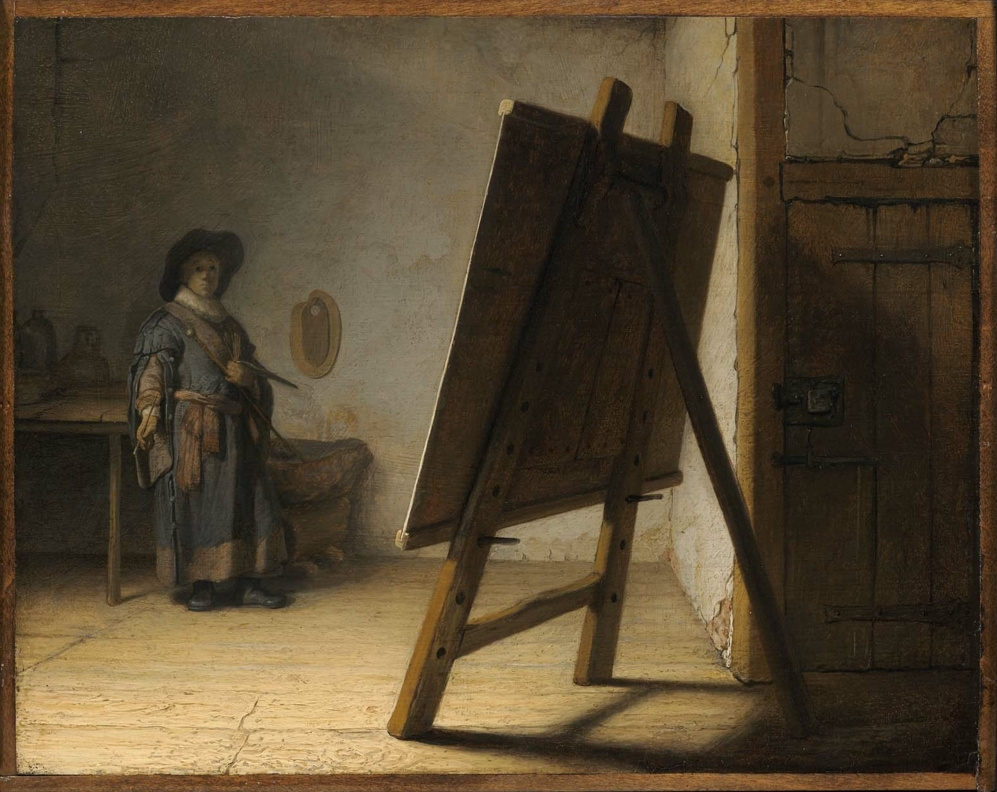 Rembrandt Harmenszoon van Rijn. The artist`s workshop