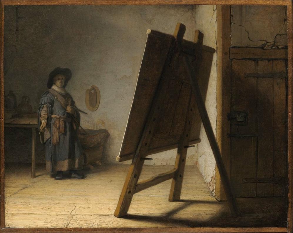 Rembrandt Harmenszoon van Rijn. The artist`s workshop