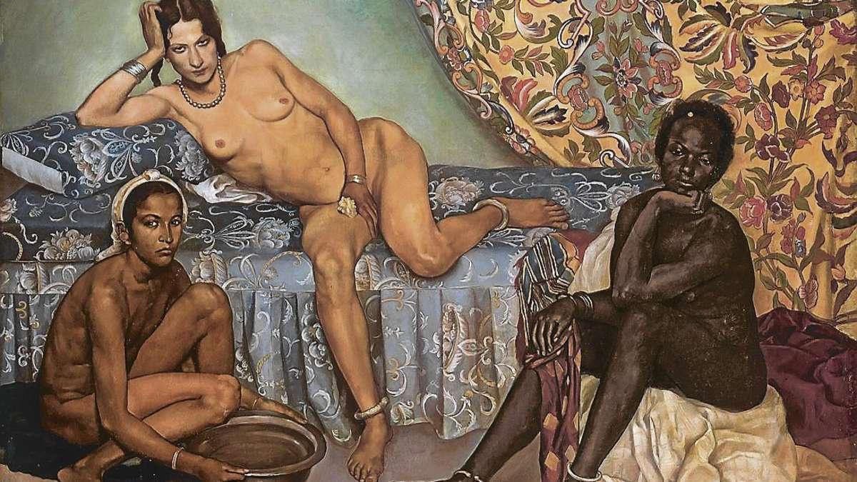 Эмиль Бернар. Три расы