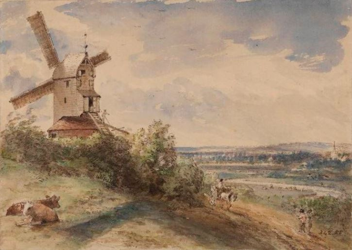 John Constable. Windmill, Ipswich