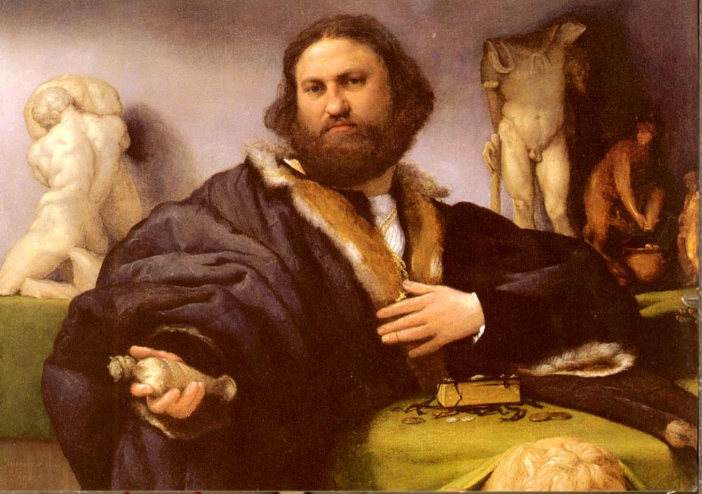 Лоренцо Лотто. Портрет Андреа Одони