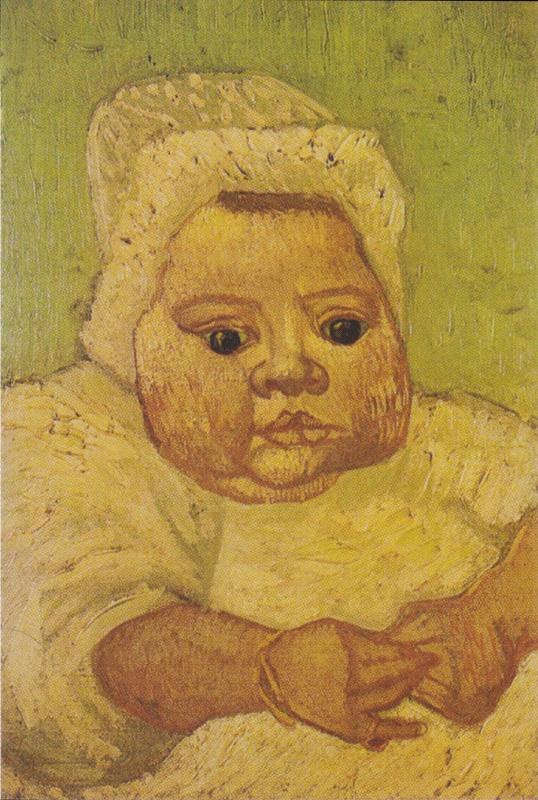 Винсент Ван Гог. Младенец Марсель Рулен