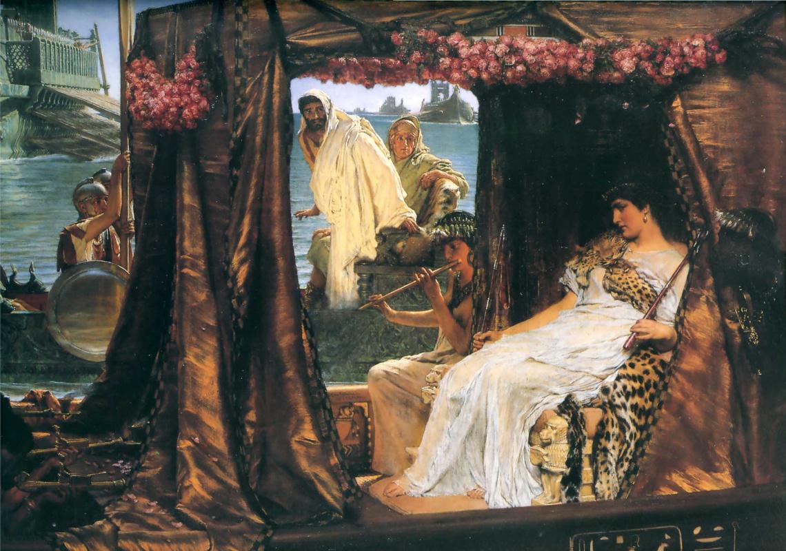 Лоуренс Альма-Тадема. Антоний и Клеопатра