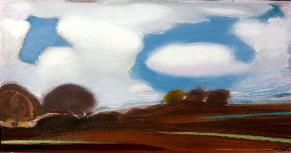 Svyatoslav Nikolaevich Roerich. Clouds gather