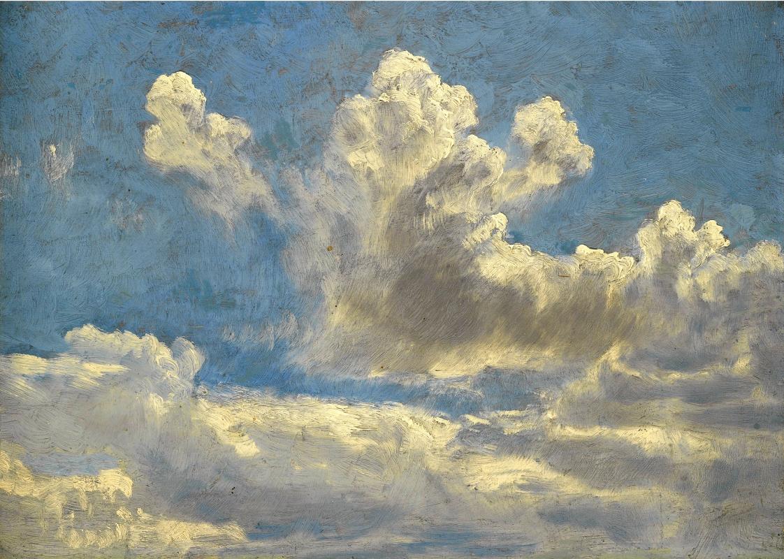 John Constable. Clouds. Sketch