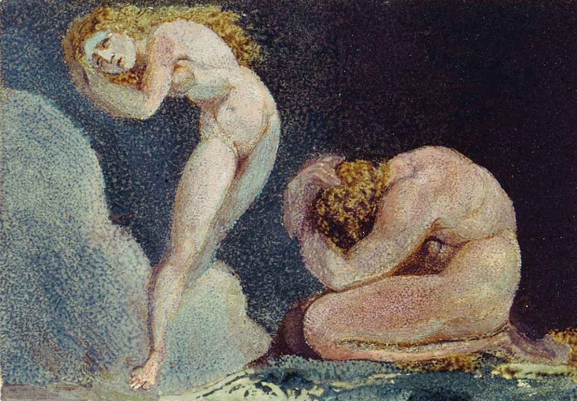 William Blake. The first book Urizen. Pathetic, they fled...