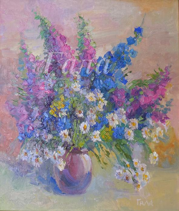 Galina Yurievna Skladanovskaya. Summer bouquet