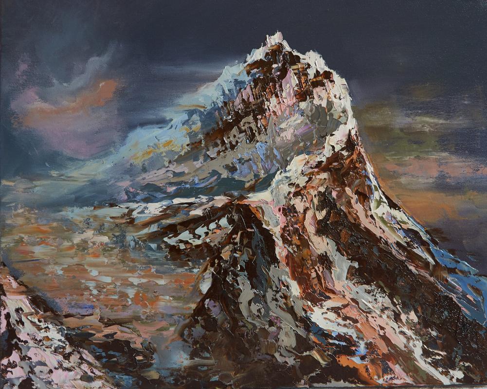 Elena Muravleva. Storm mountain