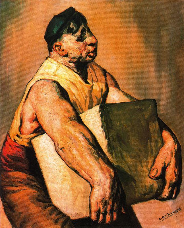 Луис Брихуега. Ноша