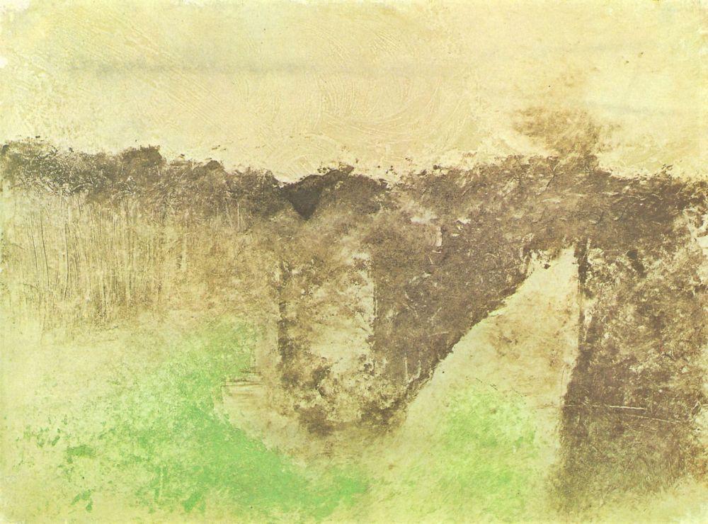 Эдгар Дега. Дорога в лесу