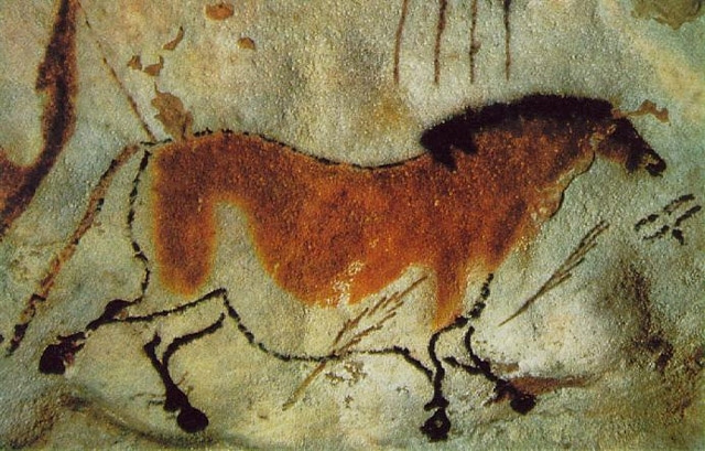 Painting Cave. Horse