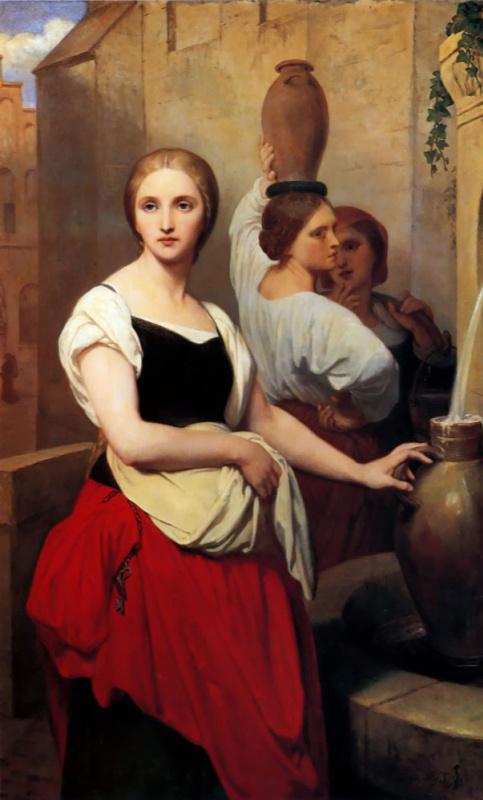 Маргарита у фонтана