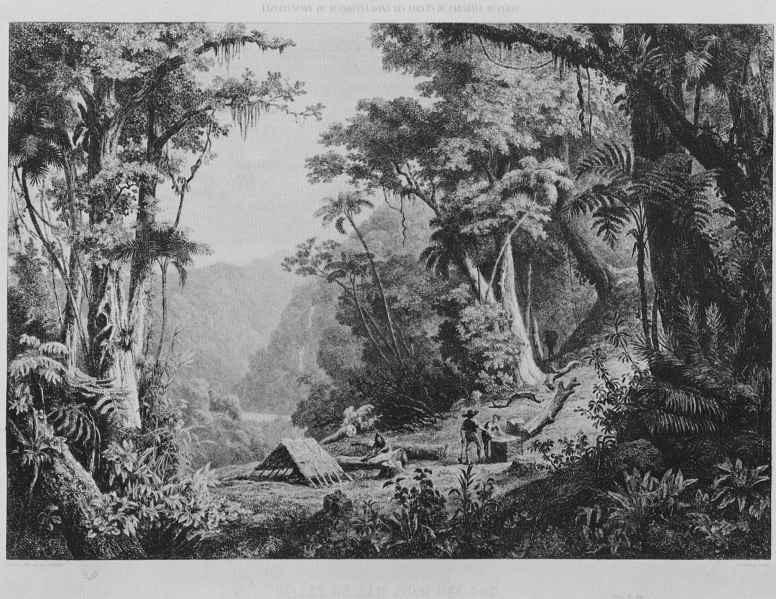 Charles-Francois Daubigny. The valley of the San Juan del Oro