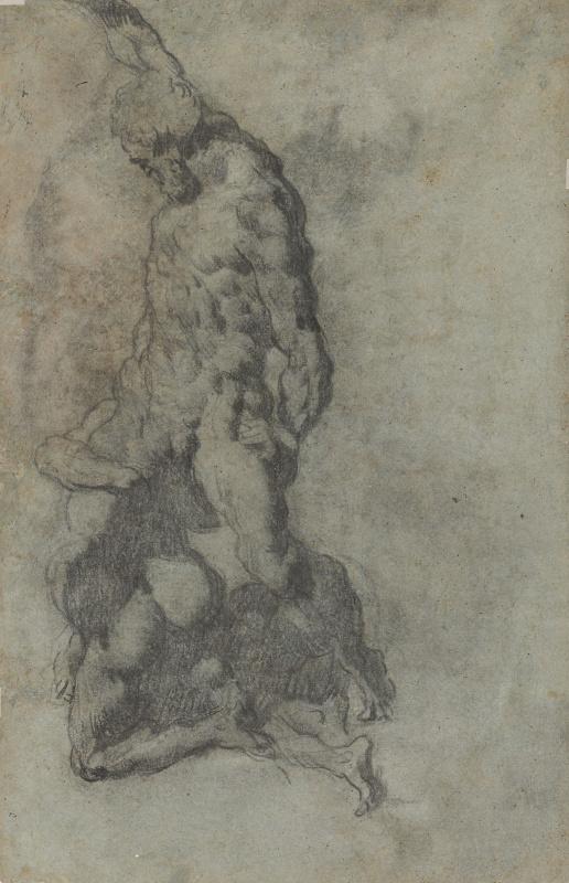 Jacopo (Robusti) Tintoretto. Samson Slaying the Philistines