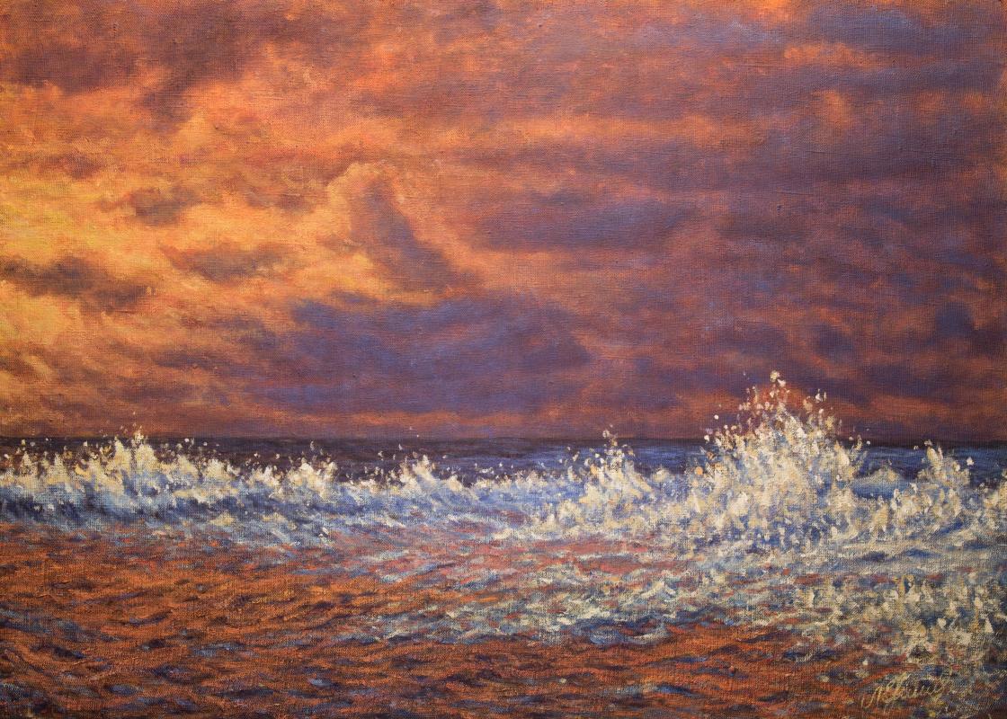 Valery Levchenko. № 528 Seascape.