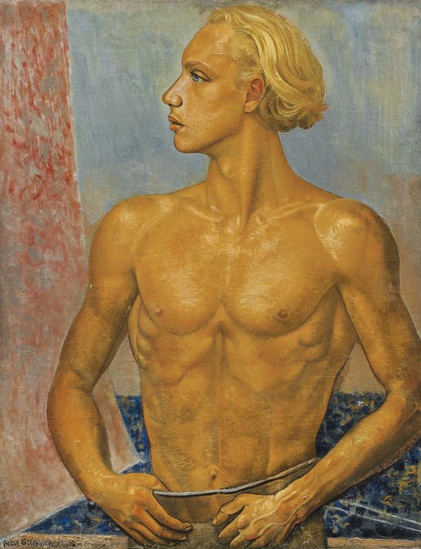 Борис Дмитриевич Григорьев. Портрет сына художника