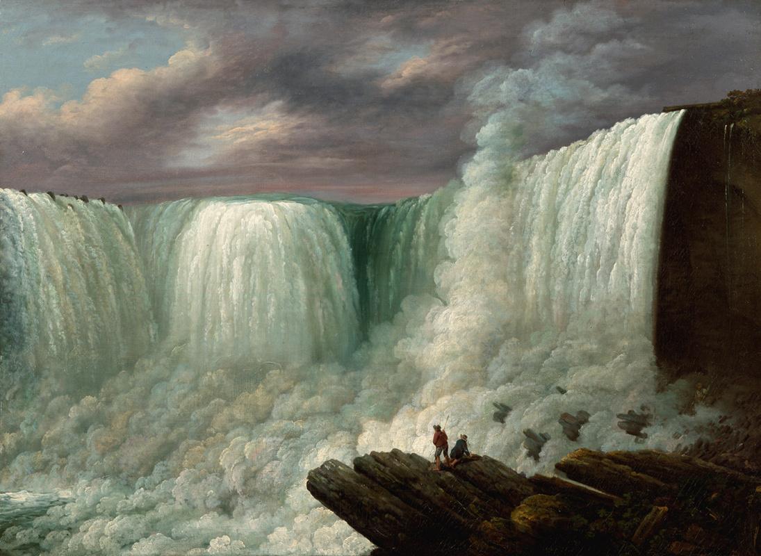 Луиза Дэвис Майнот. Ниагарский водопад