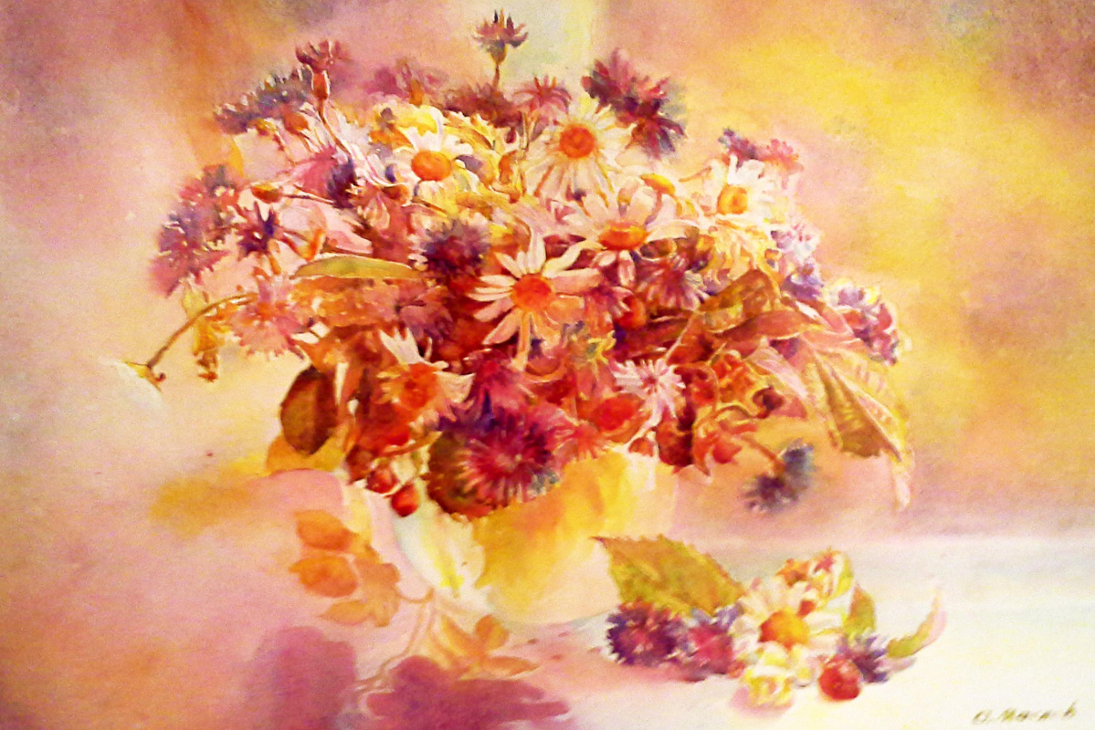Alexey Yuryevich Maslov. Daisies