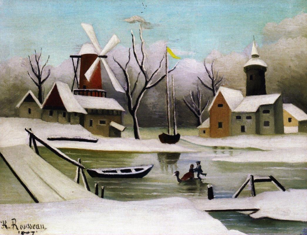 Анри Руссо. Зима