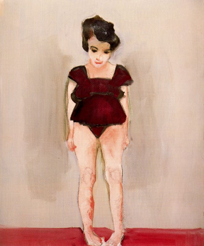 Марлен Дюма. Девушка в темно-красном