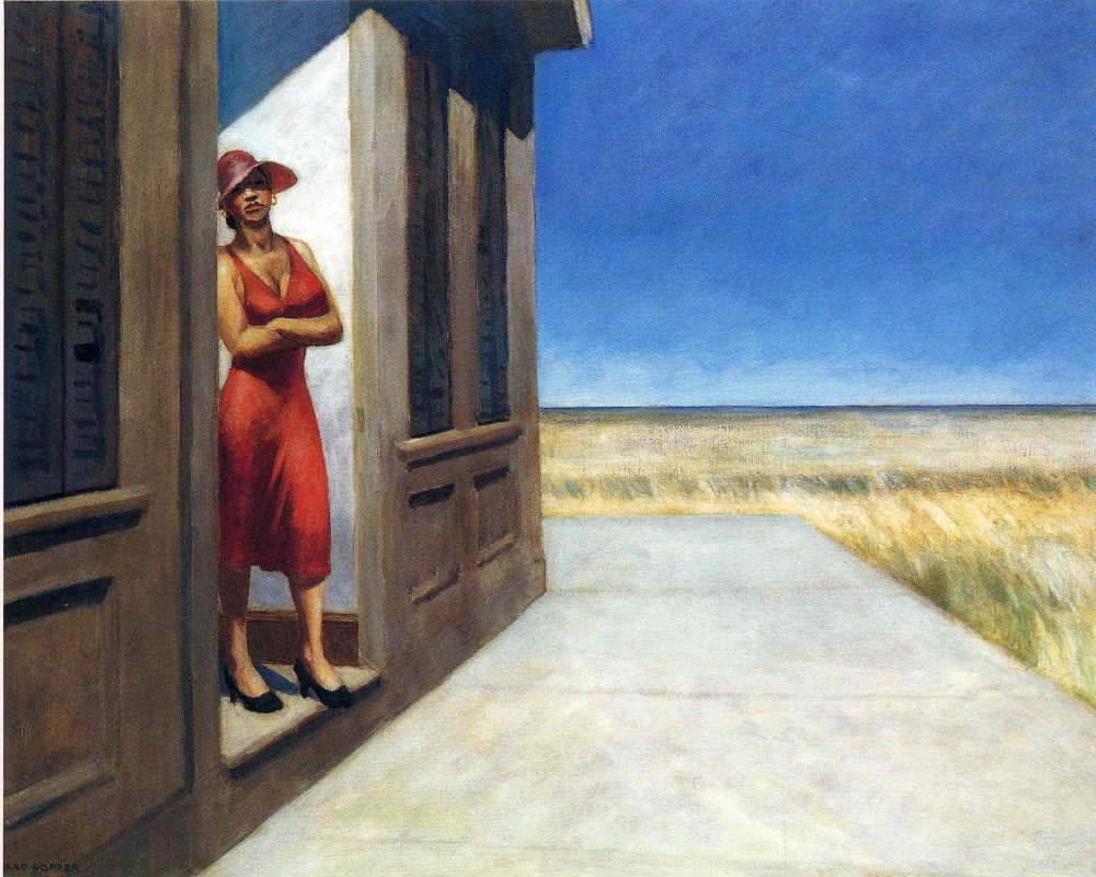 Edward Hopper. Morning in South Carolina