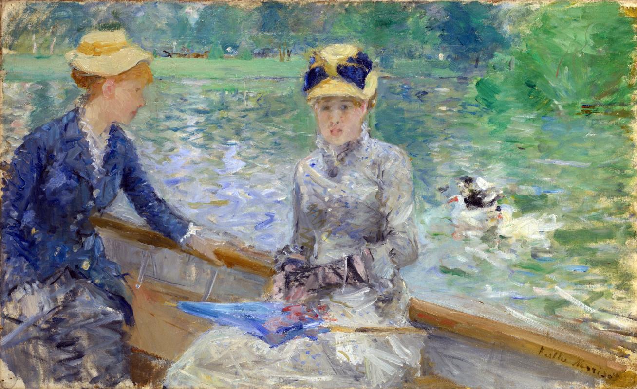 Berthe Morisot. Summer day